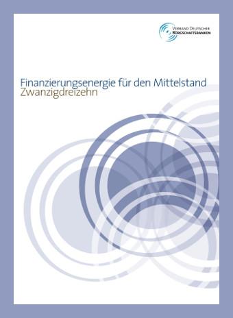 Verband Deutscher Bürgschaftsbanken e.V. Verbandsbericht 2013
