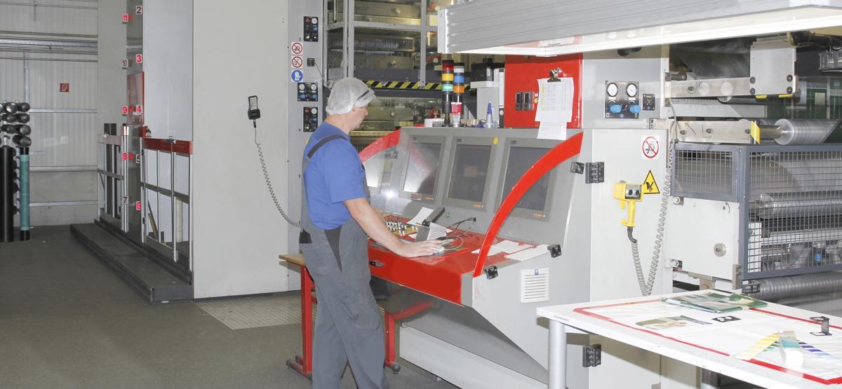 VDB Karl-Verpackungen-Druckmaschine