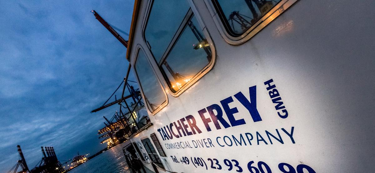 Taucher Frey Hamburg