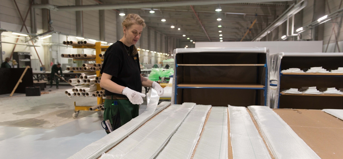 Produktion bei tfc tools for composite GmbH
