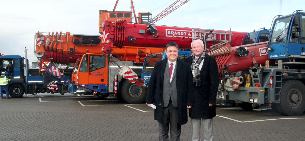 Brandt & Wangler Kran- und Transport GmbH, Magdeburg